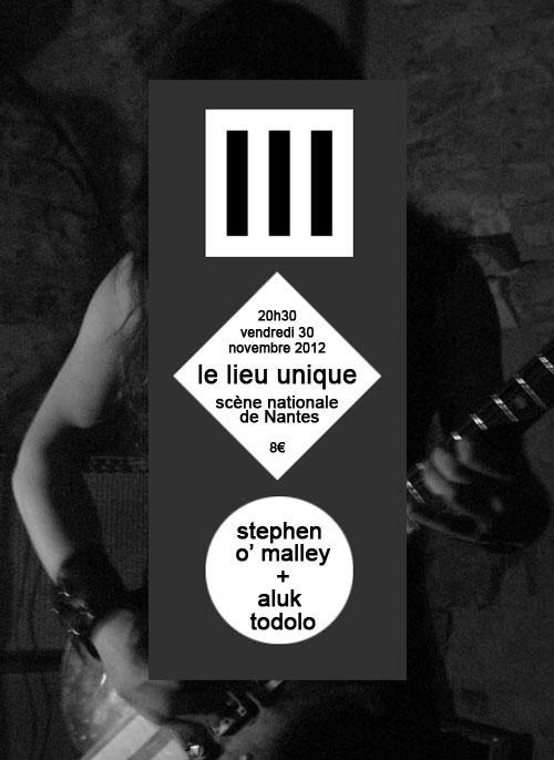 [30-11] Stephen O' Malley + Aluk Todolo @ Lieu Unique Nantes Stephen-o-malley-%20aluk-todolo-lieu-unique